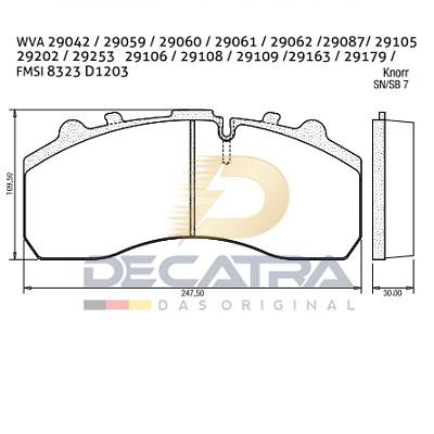 WVA 29087 – Brake Disc