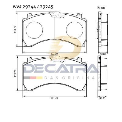 WVA 29244 – Brake Disc