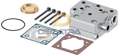 Cummins 4089206 – Wabco 9111539212 – Wabco 911 153 921 2 – Cylinderhead, Compressor